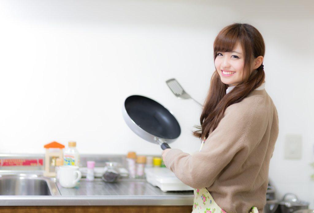 特技は料理
