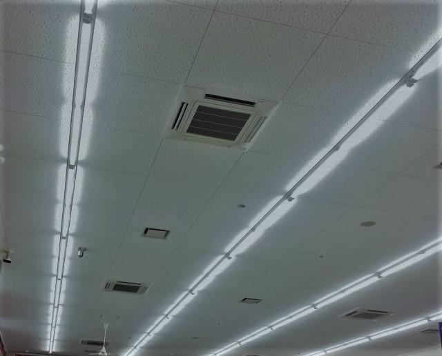 職場の照明