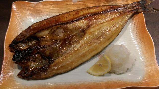 シマホッケの焼き魚